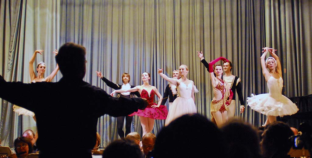 Finale of a ballet gala for Scenic Tsar guess in Russia