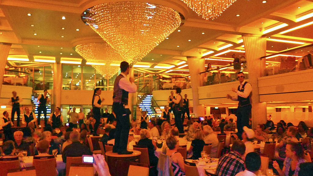 Dancing In The Dining Room On Carnival Breeze The Cruisington Times