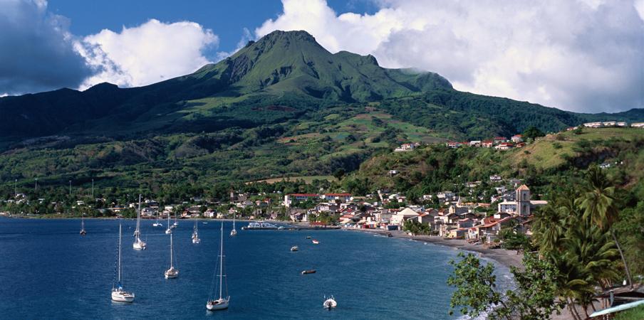 Martinique harbor