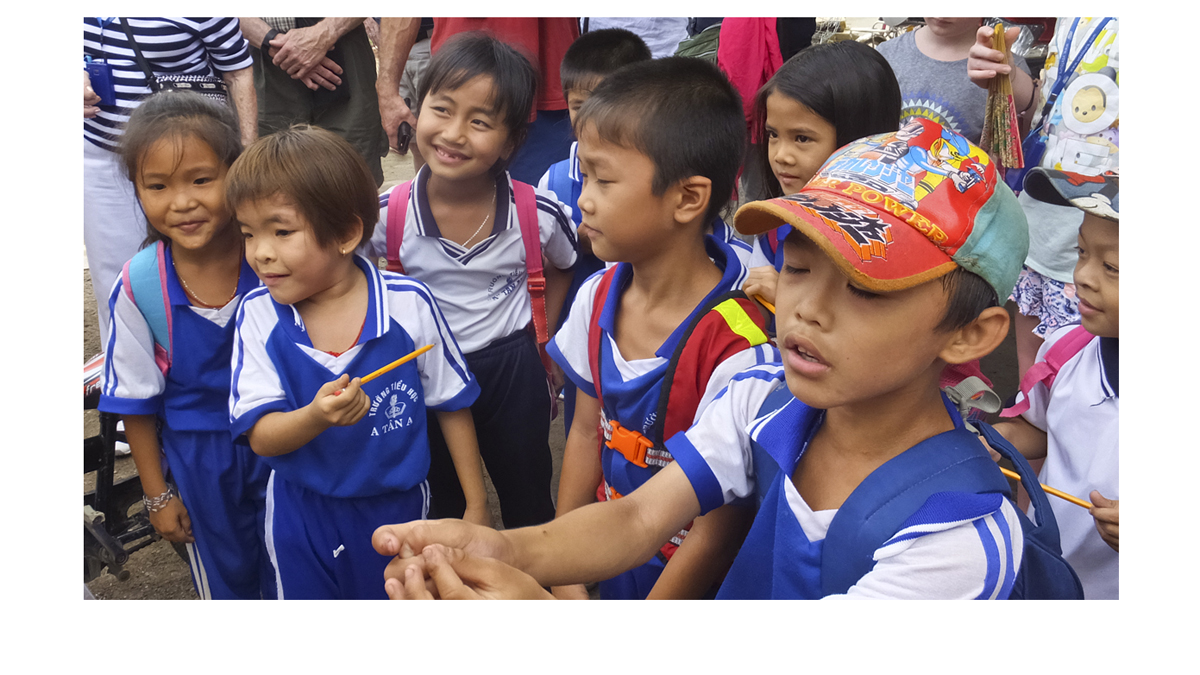 Street kids in Cambdia