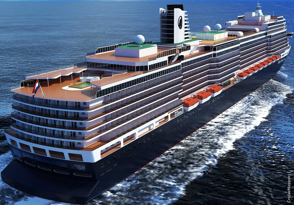 holland america nieuw statendam deck plan